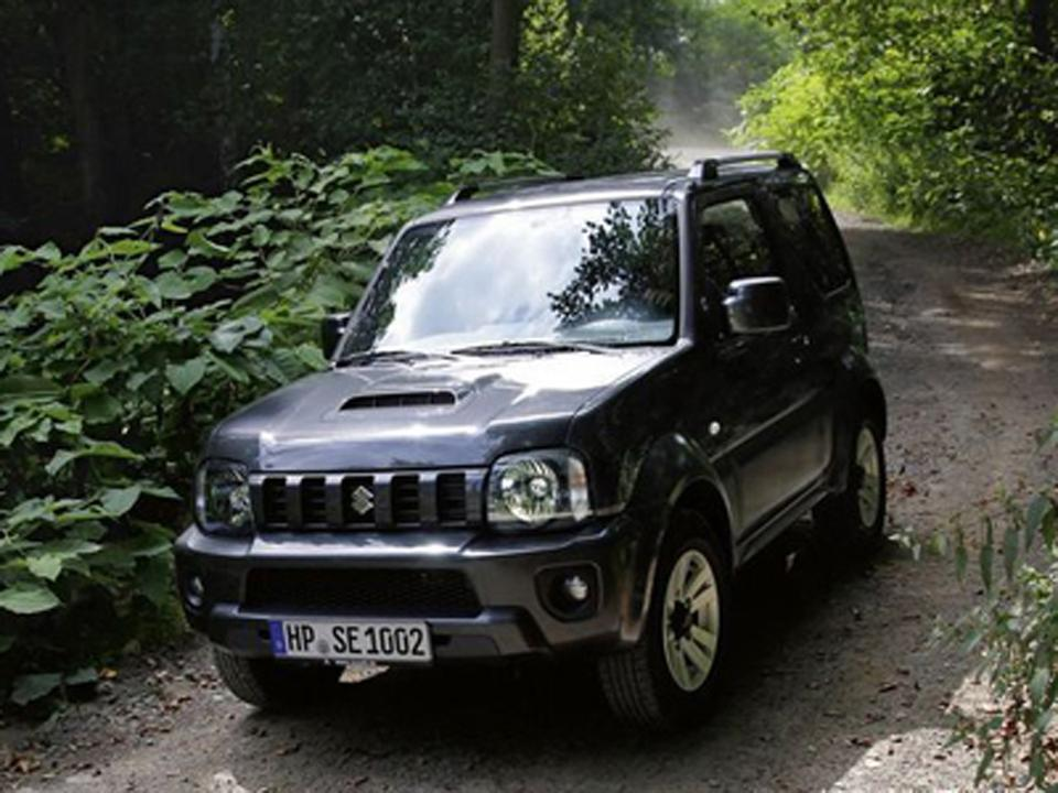 Suzuki jimny off road test фото